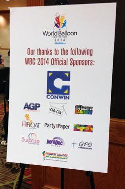 Sponsor at Balloon World 2014