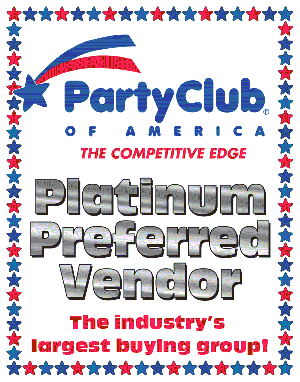 Platinum Preferred Vendor of Party Club of America