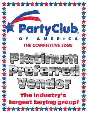 Platinum Preferred Vendor of Party Club of America